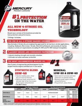 Mercury Precision Parts FourStroke Oil