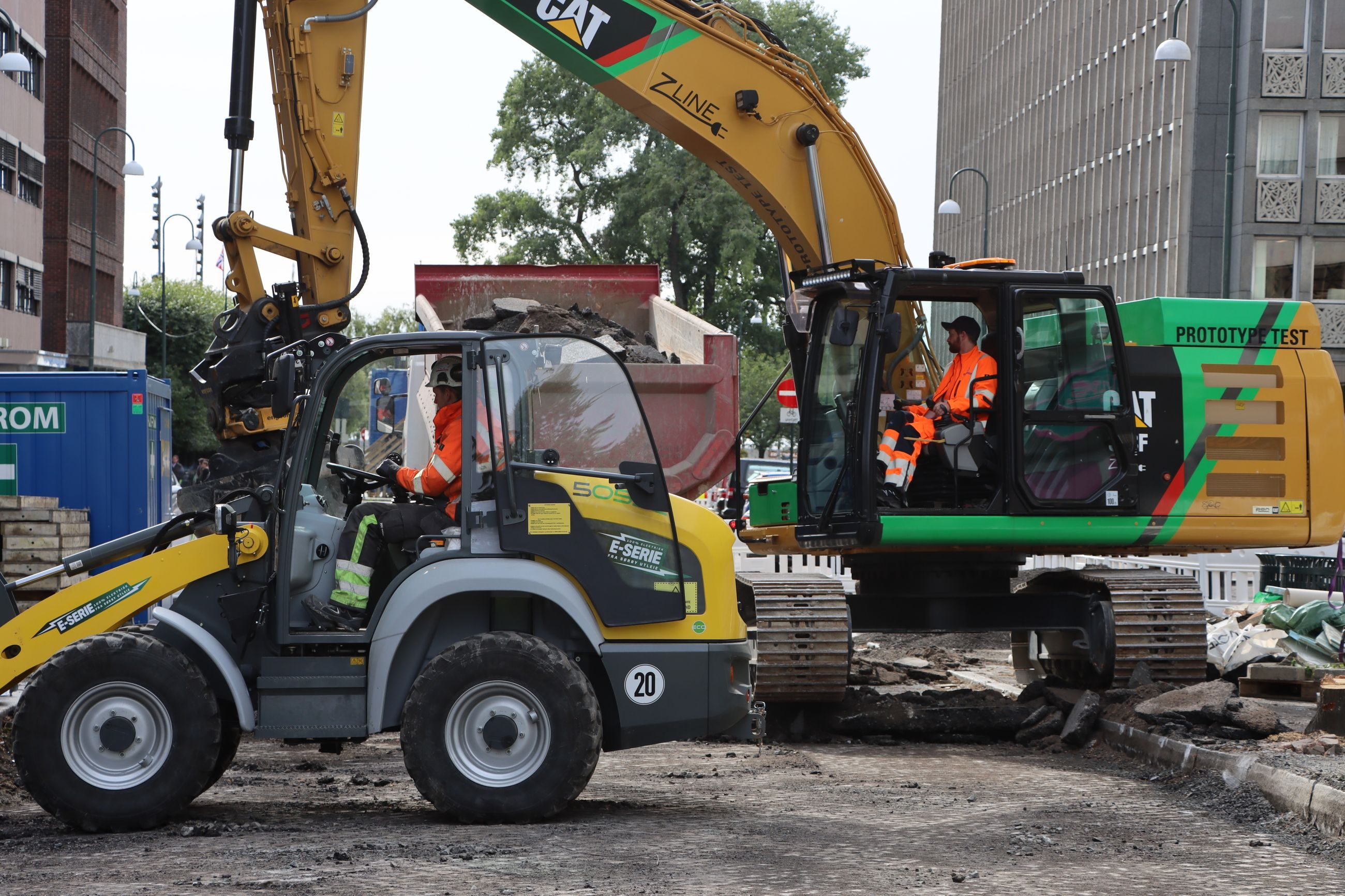 Electric Excavators May Become The New Norm In Oslo